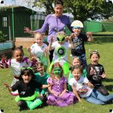 Aliens have landed in Year 1 at Pioneer...