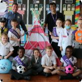 Pioneer pupils get a special play surprise!...