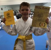 Ben Yellow Belt Karate