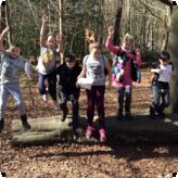 Thorndon Park adventures for Pioneer pupils...