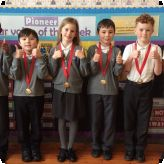 Pupils wow at the local poetry competition!...