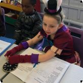 World Book Day celebrations...