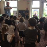 Storytime for Nursery & Reception pupils...