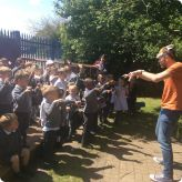 Storyteller comes to Nursery
