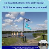 Thurrock Sail have Half Term Activities planned