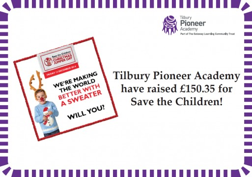 Save the Children certificate